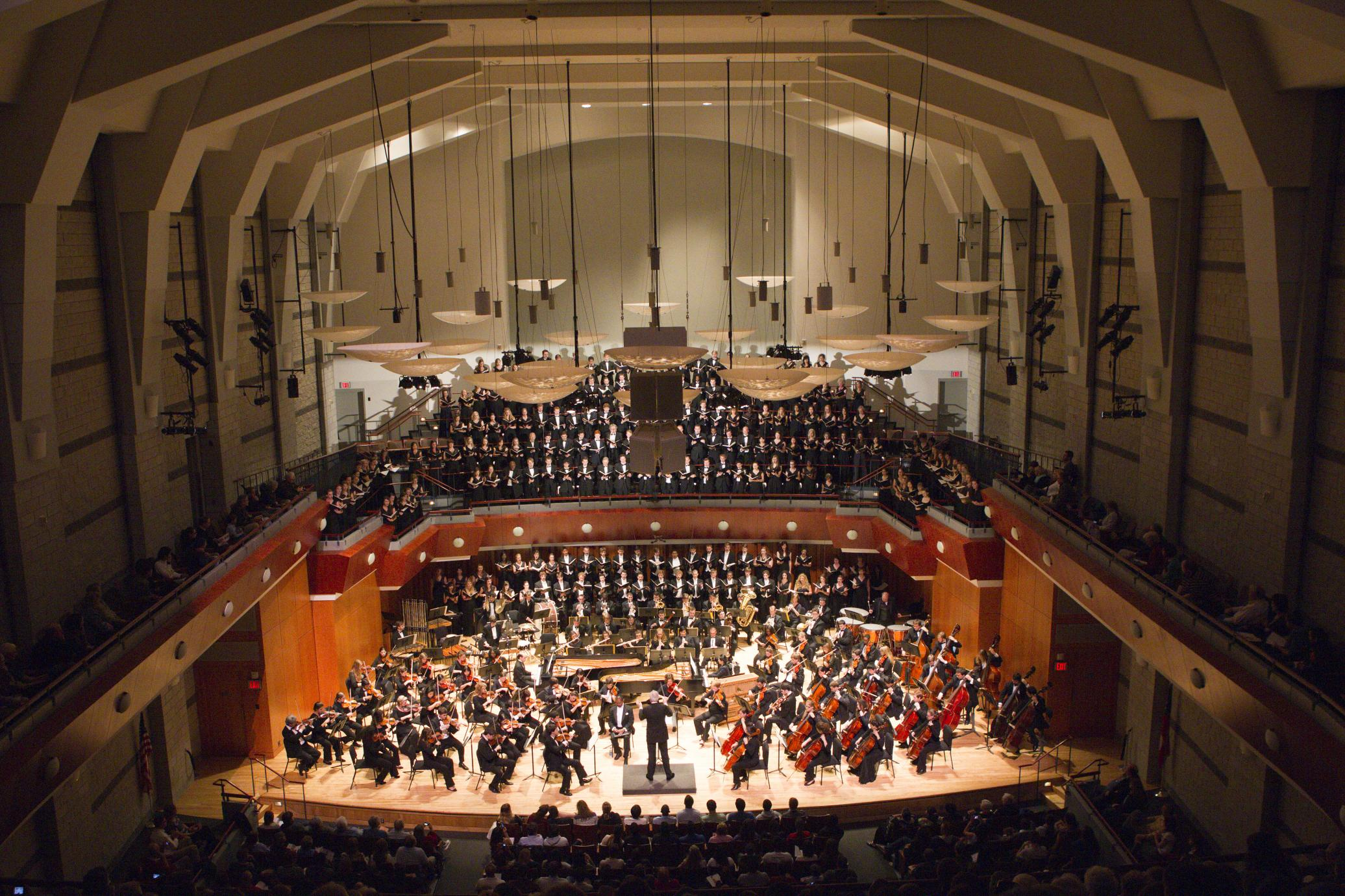 Symphony orchestra hugh hodgson school of music for Schoolhouse music