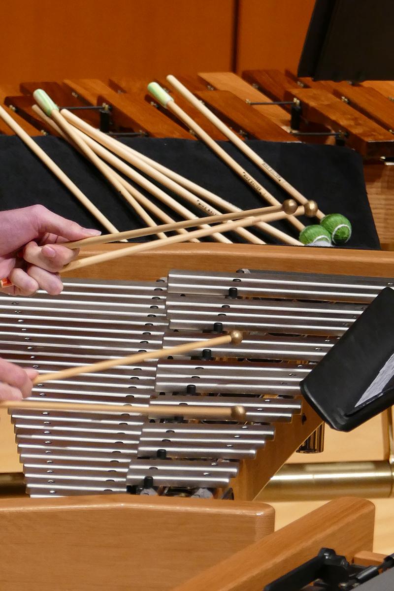 Graduate Percussion Audition Repertoire | Hugh Hodgson